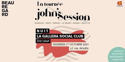 Nuit / La Gallera Social Club / Dye Crap